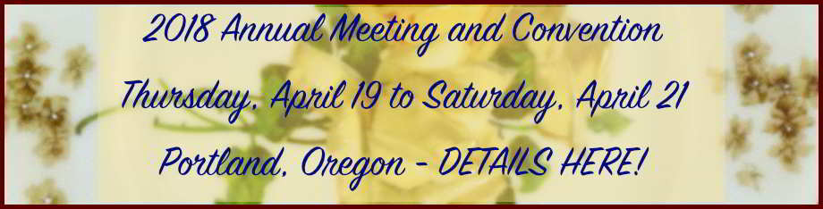 2018 Convention April 19-21 Portland, Oregon