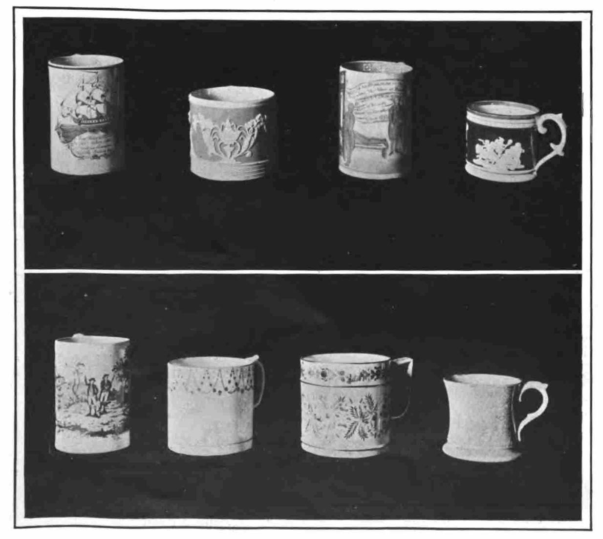 English 18th century cider cups