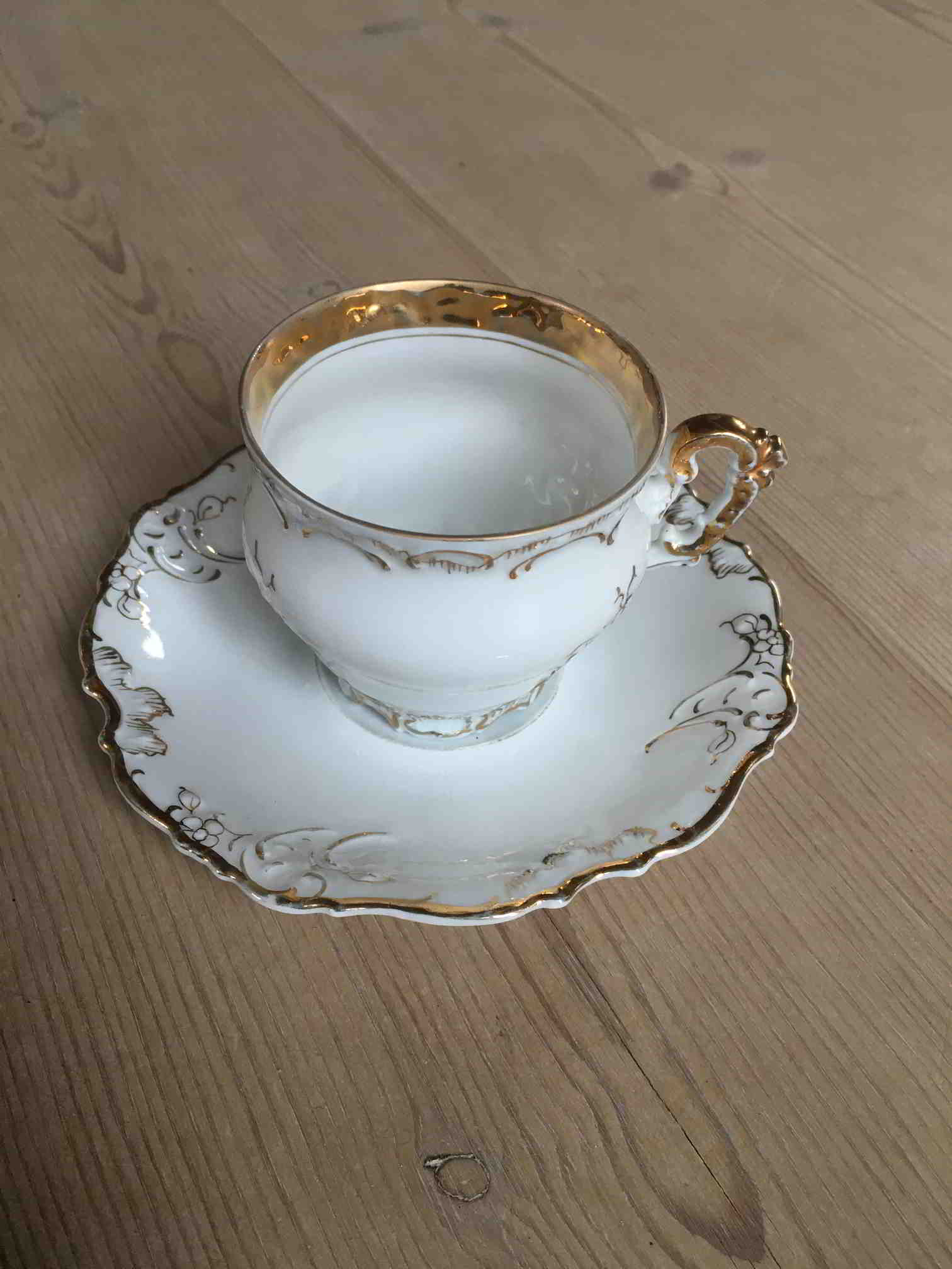 Elysee cider cup and saucer